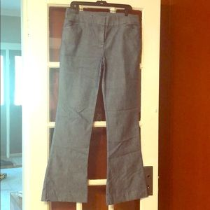 Denim pants from The Limited